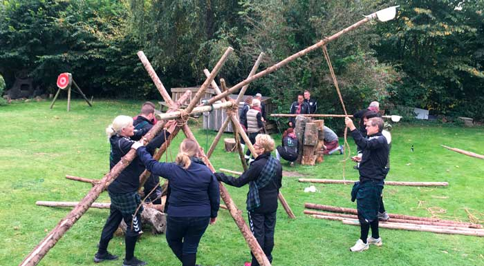 Highland Games team-building